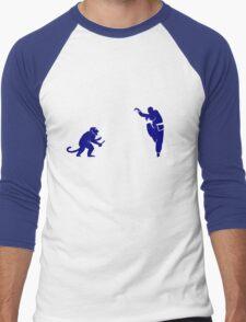 Monkey Kung Fu with Knife Men's Baseball ¾ T-Shirt