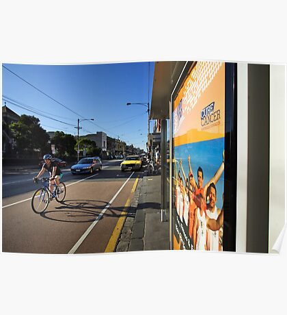 Sydney Road in Brunswick Poster