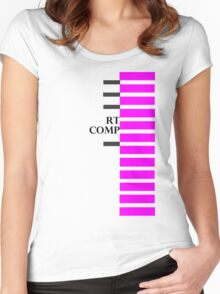 RT COMP Women's Fitted Scoop T-Shirt