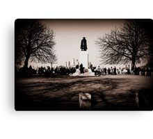 Greenwich Park - James Wolfe Statue Canvas Print