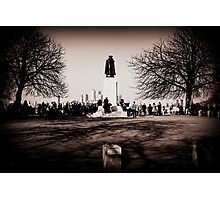 Greenwich Park - James Wolfe Statue Photographic Print