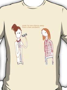 Silent Sandwich T-Shirt