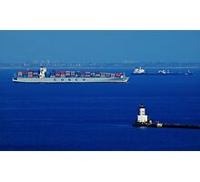 The Container Ship Photographic Print