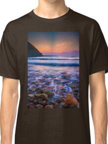 Rocks in sea Classic T-Shirt
