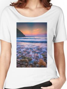 Rocks in sea Women's Relaxed Fit T-Shirt