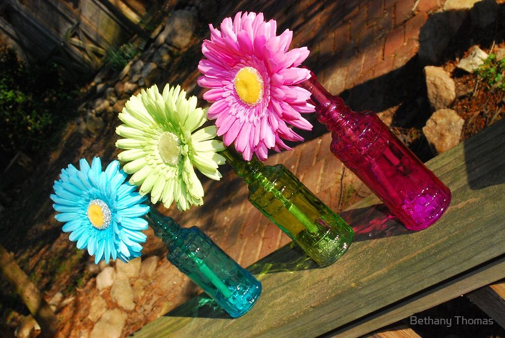Colorful Flowers 2 by Bethany Thomas