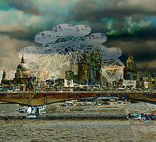 London XIII - The Thames by Igor Shrayer