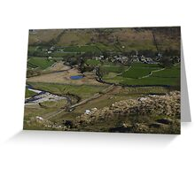 Arncliffe in Littondale Greeting Card