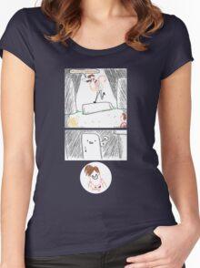 Hello, Stonehenge! Women's Fitted Scoop T-Shirt