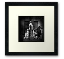 The Middle of Time Framed Print