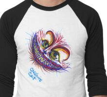 Cheshire Cat Men's Baseball ¾ T-Shirt