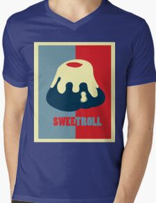 Believe In The Sweetroll Mens V-Neck T-Shirt