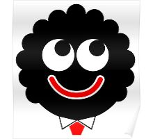 Golliwog Classic retro style face Poster