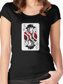 Jack of Threes Women's Fitted Scoop T-Shirt