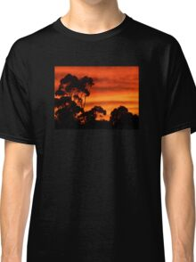 Sunrise Through the Trees Classic T-Shirt