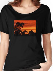 Sunrise Through the Trees Women's Relaxed Fit T-Shirt