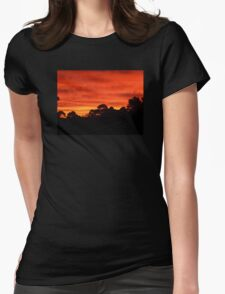 Melbourne Sunrise Womens Fitted T-Shirt