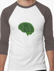 Hard-Wired Men's Baseball ¾ T-Shirt