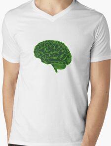 Hard-Wired Mens V-Neck T-Shirt