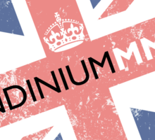 London 2012 - Londinium MMXII Union Jack  Sticker