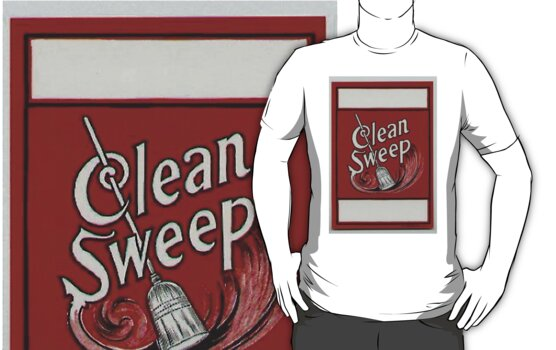 Clean Sweep Broom Label by cshielrun