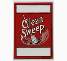 Clean Sweep Broom Label Unisex T-Shirt