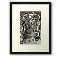 Made in the USA (Portrait of a Futurist - 2). Framed Print