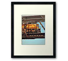 Suspended Locomotive Framed Print