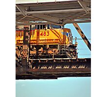 Suspended Locomotive Photographic Print