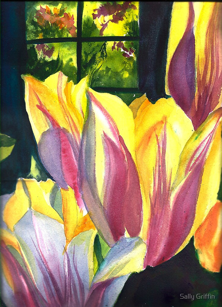 When Spring Arrives by Sally Griffin