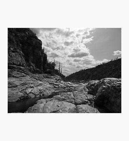 Tangue Verde Falls, Tucson, Arizona Photographic Print