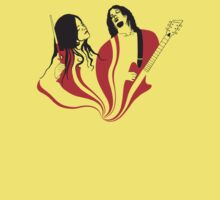 Jack and Meg White Kids Tee