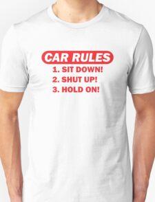 Car rules T-Shirt