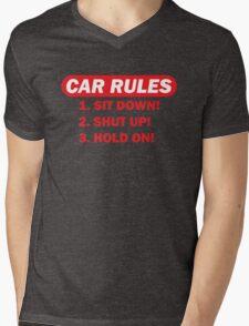 Car rules Mens V-Neck T-Shirt