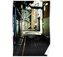 Perth Alleyway Poster