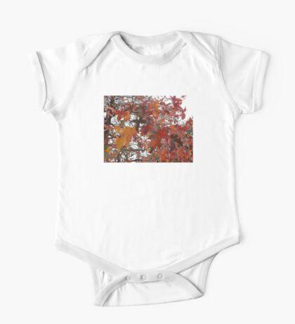 Autumn Colours One Piece - Short Sleeve