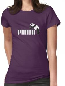 Panda Athletics Womens Fitted T-Shirt