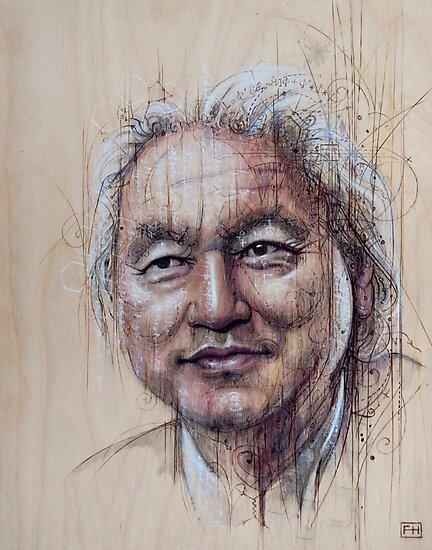 Michio Kaku by Fay Helfer