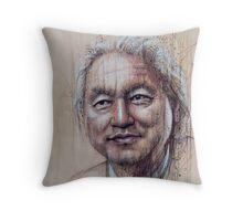 Michio Kaku Throw Pillow