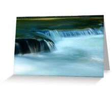 Smooth Spill Greeting Card