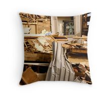 The Cross Cannot Be Destroyed Throw Pillow
