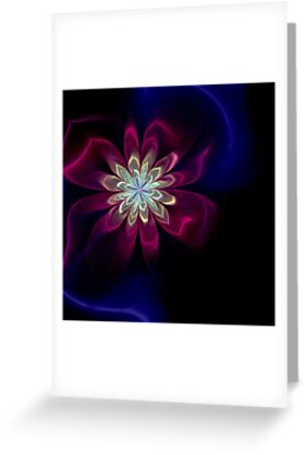 Satin Flower by Pam Amos
