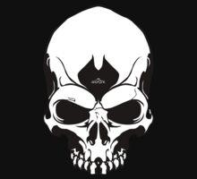 2012Skull-White by SEspider
