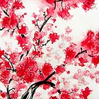 Cherry Blossoms by Kathie Nichols