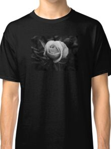 Black and White Bloom Classic T-Shirt