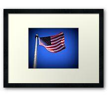 The Flag Framed Print