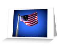 The Flag Greeting Card