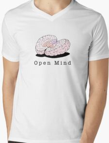 Open Mind Mens V-Neck T-Shirt