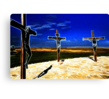 Darkness at the Crucifixion of Jesus Canvas Print