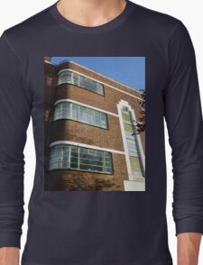London Deco: Oman Court 3 Long Sleeve T-Shirt